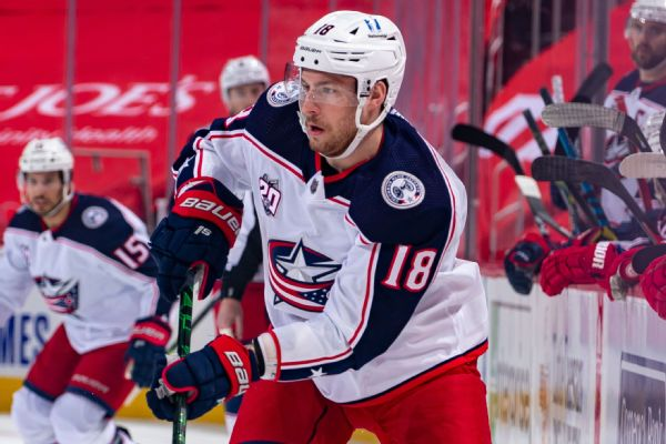Blue Jackets' Dubois pulled after lackluster shift