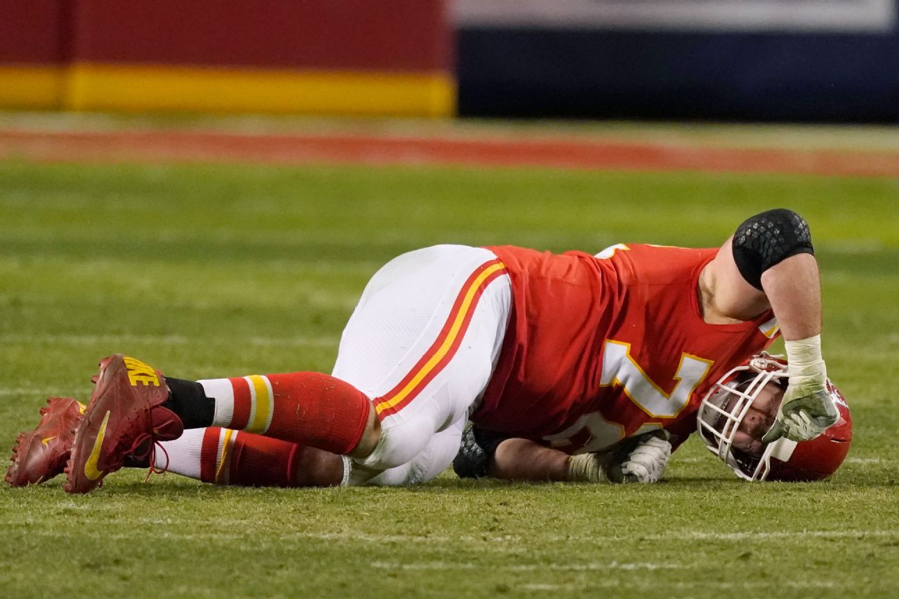 Chiefs LT Fisher out for SB with torn Achilles