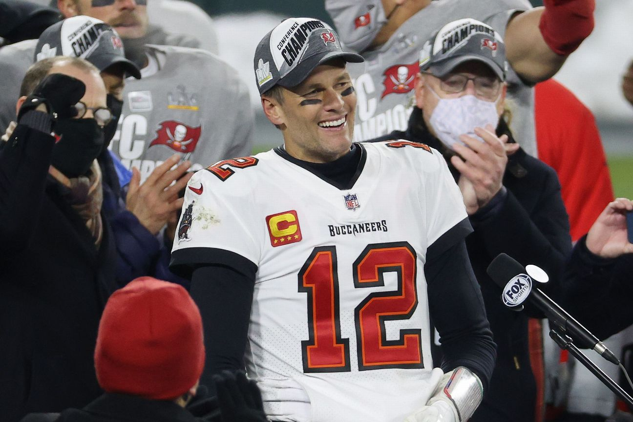 Brady will 'definitely consider' playing past 45
