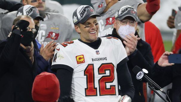 Events that defined Brady's first season with the Buccaneers