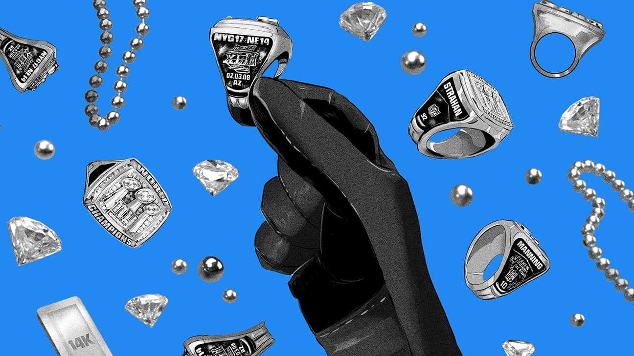 The master thief who stole the Giants' Super Bowl rings — and the investigation that brought him down