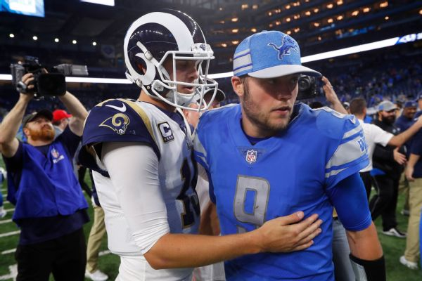 Sources: Lions trading Stafford to Rams for Goff