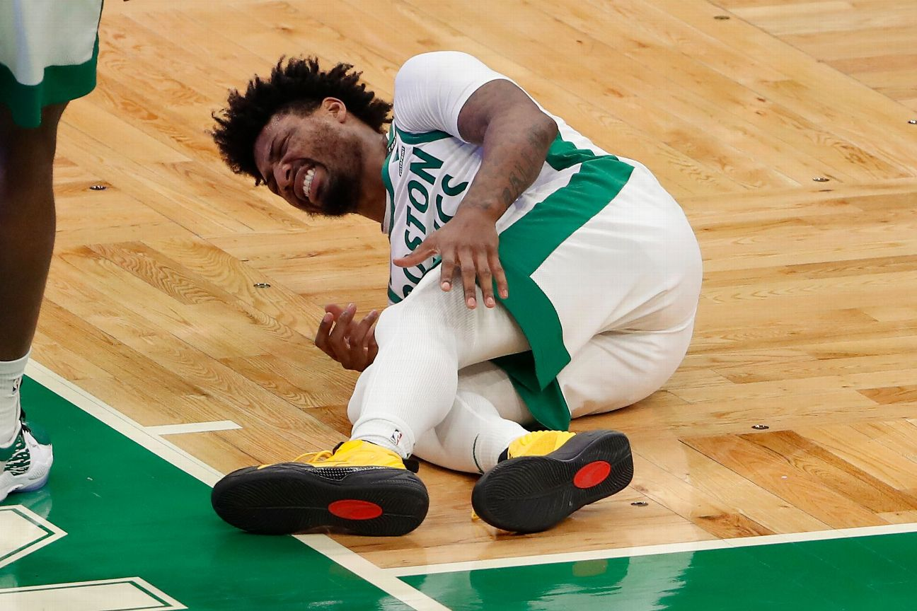 Celtics' Smart to be sidelined with calf injury