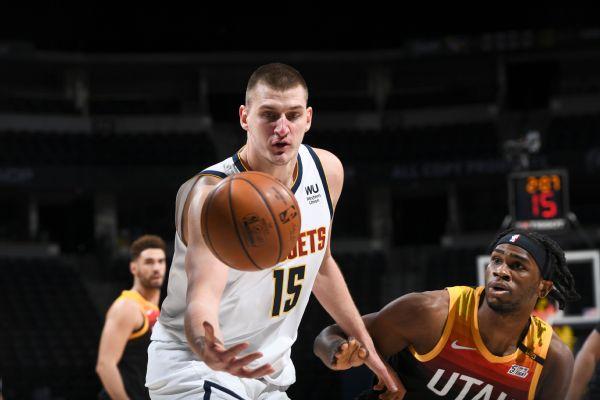 Jokic drops 47, Nuggets end Jazz's streak at 11