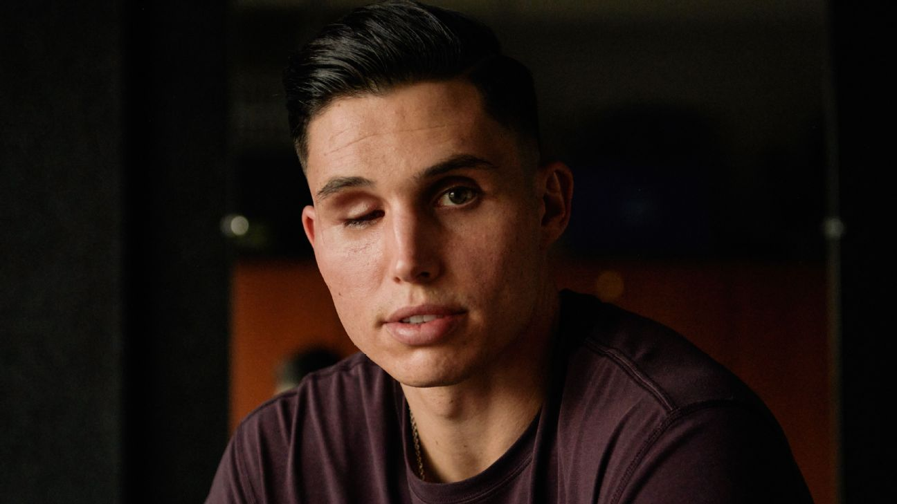 'I'm meant to be alive': How Drew Robinson is learning to live