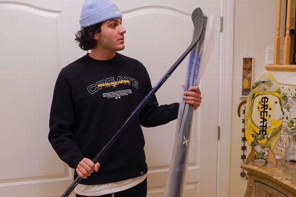 Chara's hockey sticks sent to N.J. man's house