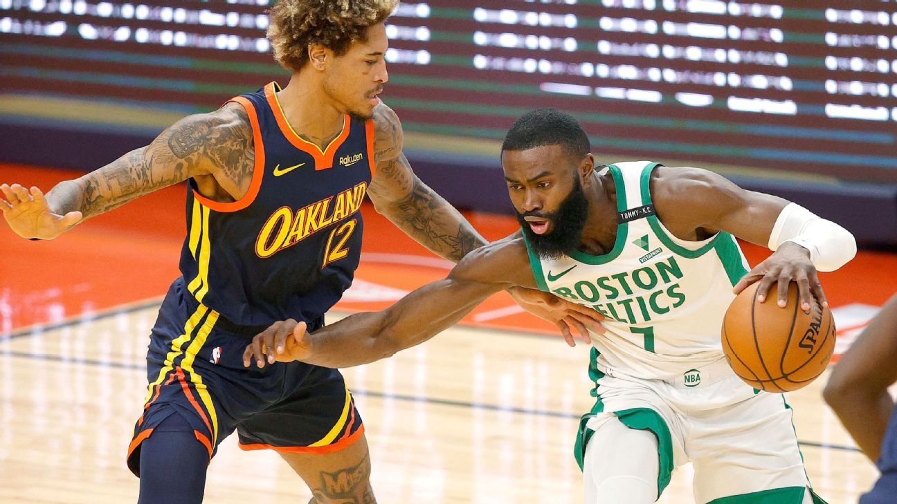 Follow live: Struggling Celtics look to slow Curry, Warriors