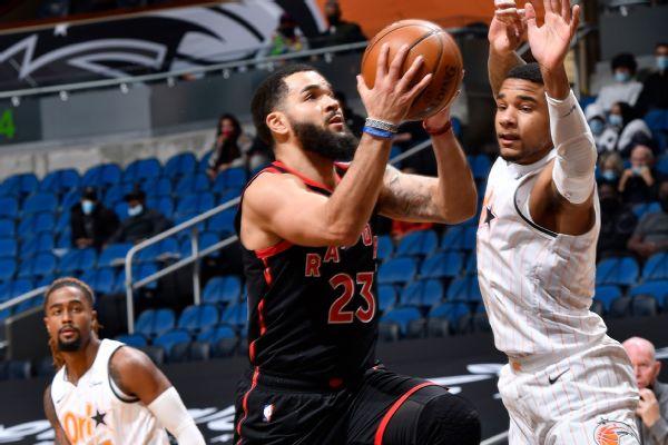 VanVleet breaks DeRozan's Raptors mark with 54