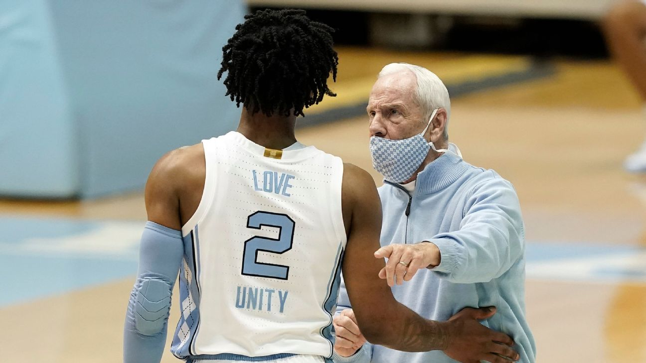 Cameron Johnson North Carolina Basketball Jersey - Light Blue