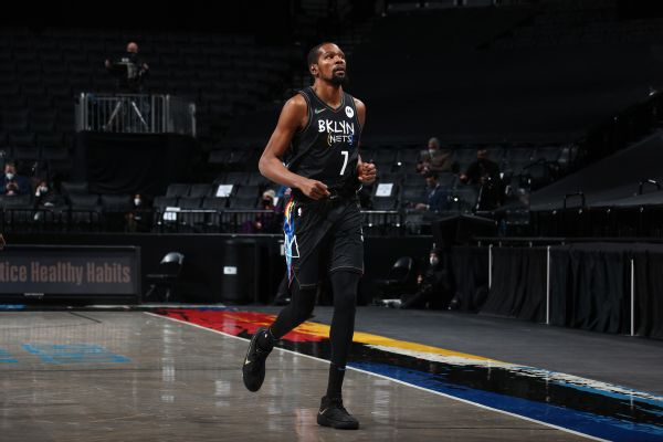 Durant (hamstring) out through All-Star break