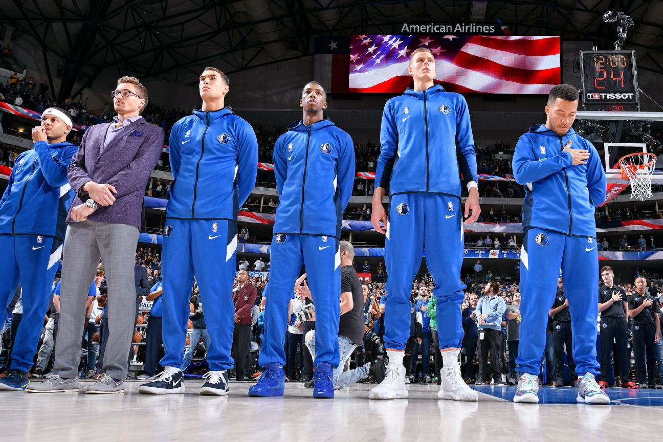 NBA: All teams will play the national anthem
