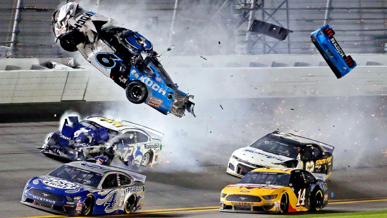 How the Dale Earnhardt tragedy made NASCAR safer — and saved Ryan Newman
