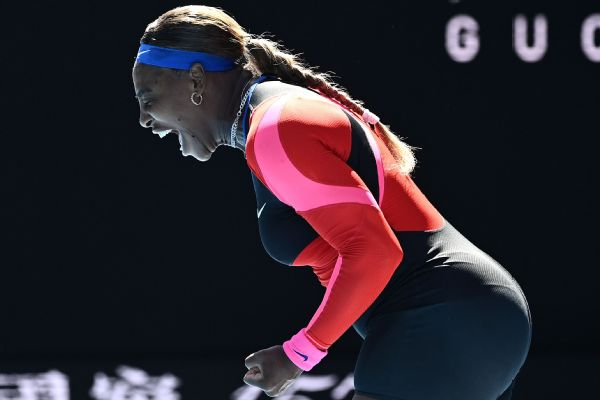 Serena, Osaka both tested en route to Aussie QFs