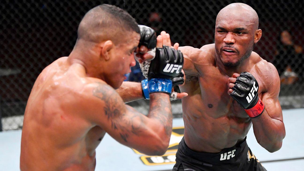 Usman rocks Burns to retain UFC title by TKO