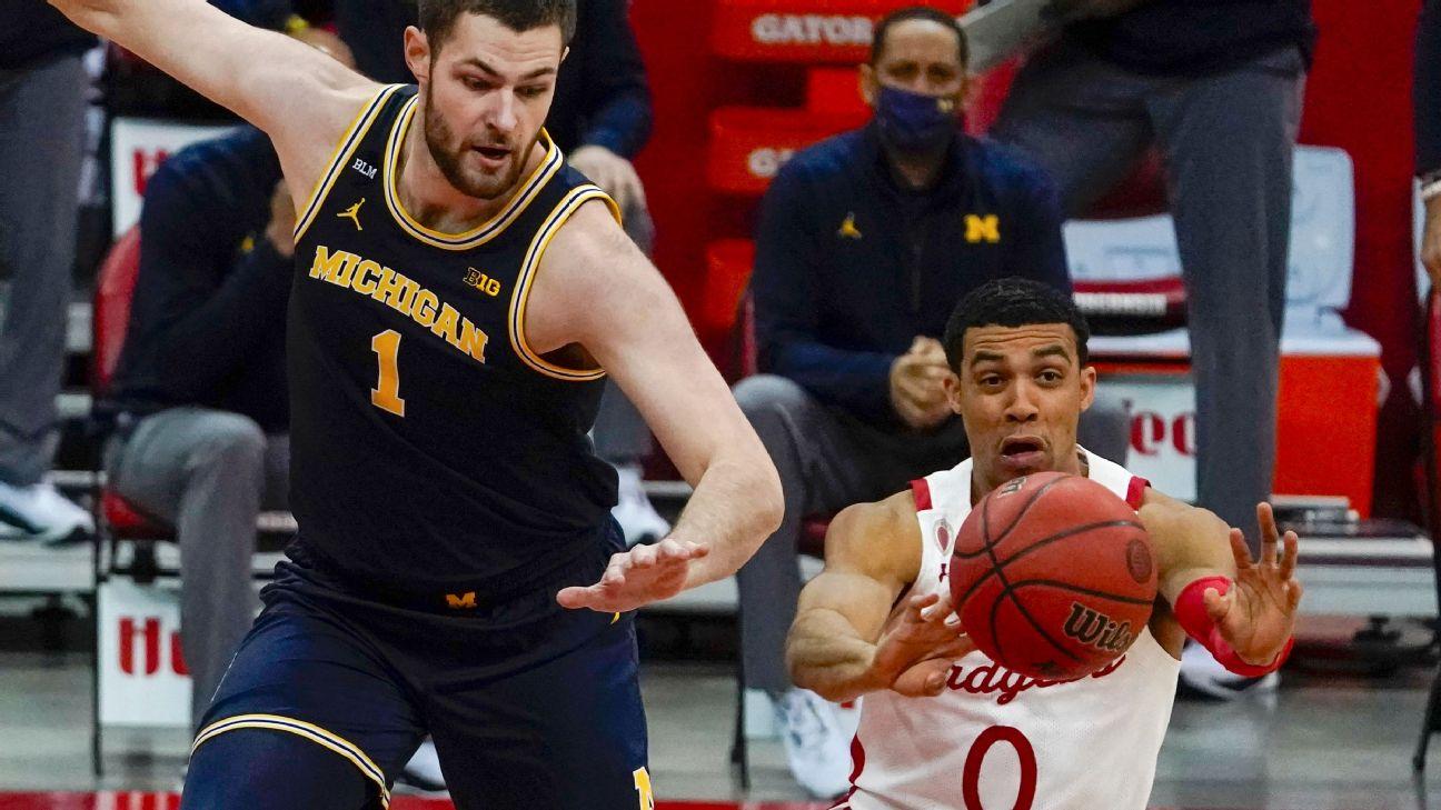 Follow live: No. 3 Michigan looks to keep winning ways going vs. No. 21 Wisconsin
