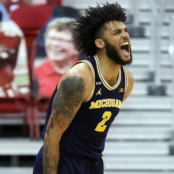 Big Ten places 3 in top 5; Zags, Baylor still reign