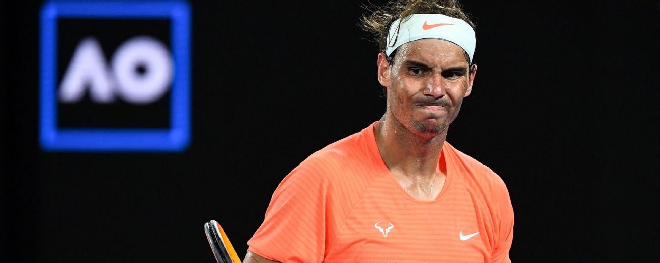 How Rafael Nadal's Australian Open loss could reshape the career Slams race for the Big Three