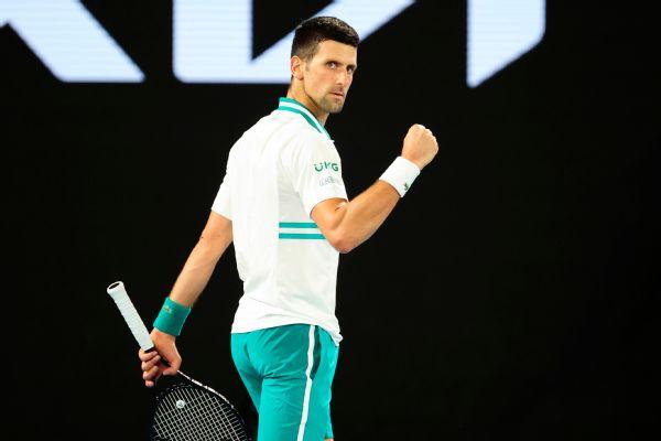 Djokovic ends No. 114 Karatsev's golden run