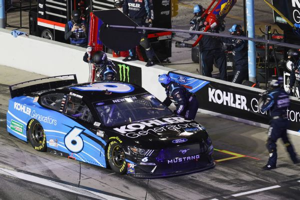 Roush Fenway 1st carbon neutral NASCAR team