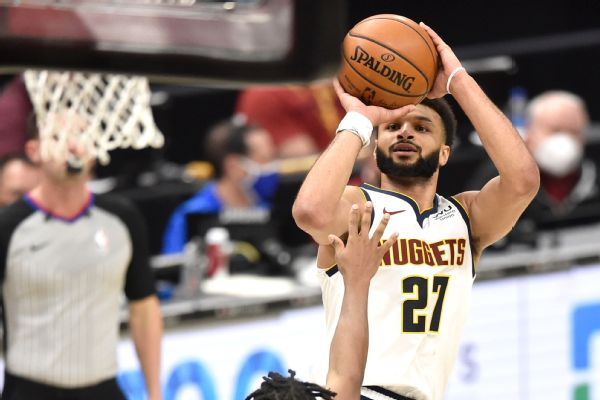 Nuggets' Murray 1st ever to drop 50 with no FTAs