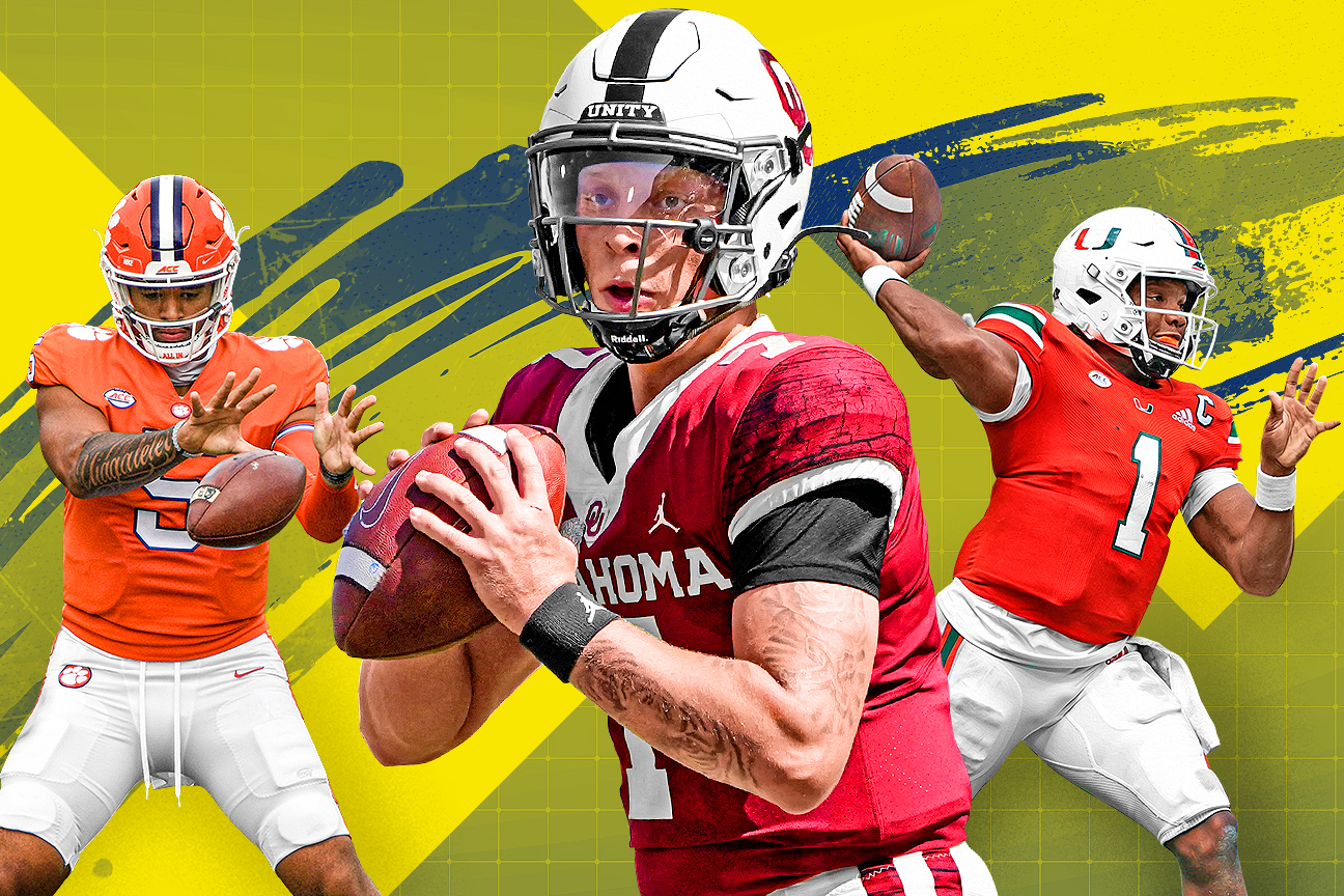 Ranking college football's 25 best QB situations over the next three seasons