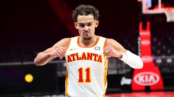 Trae and the Hawks did it again -- this time with a little shimmy