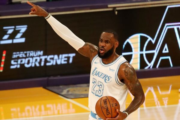 LeBron dismisses 'narrative' he needs more rest
