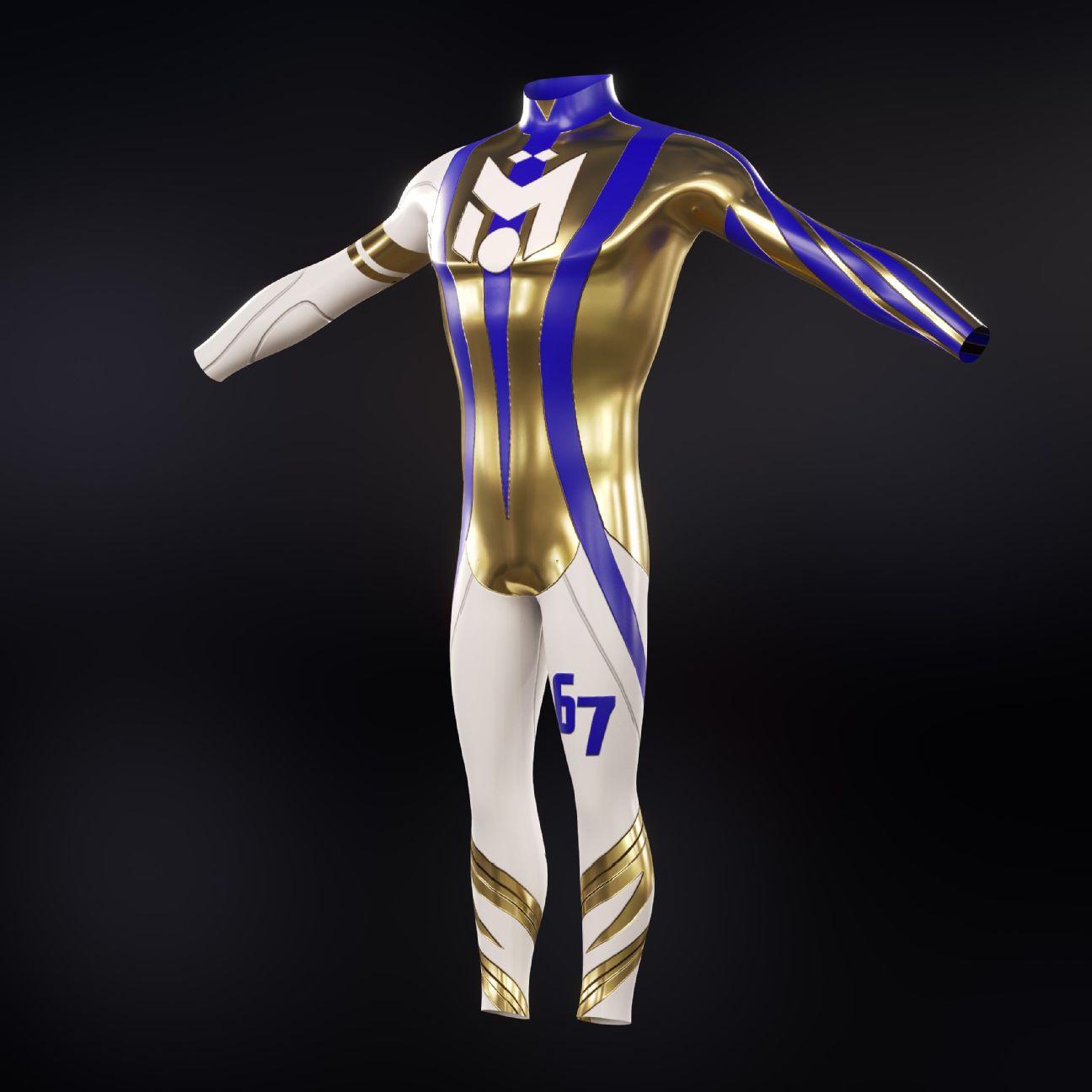 La gamme de vêtements personnalisés numériques d'Ozil comprend un kit de football doré et des chaussures pour que les fans puissent personnaliser leurs avatars en ligne