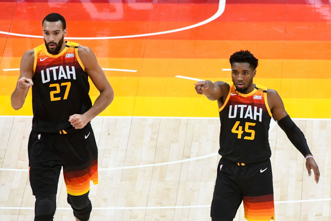 NBA fines Mitchell, Gobert for criticizing officials