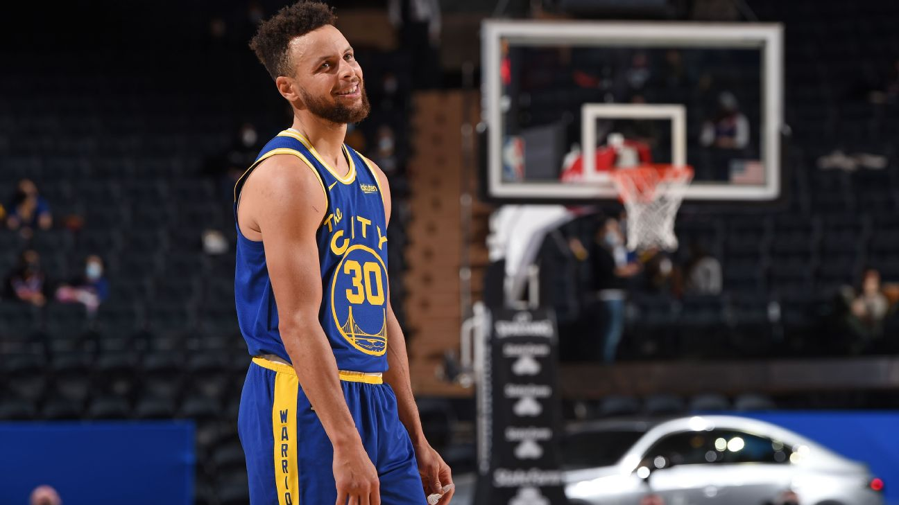 Stephen Curry 37 Points James Wiseman Make Impact For Golden State Warriors In Return To Lineup