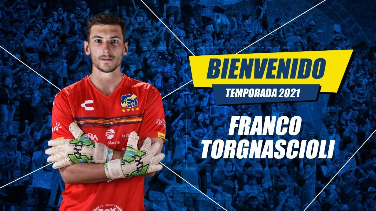 Arquero uruguayo Franco Torgnascioli es el nuevo refuerzo de Everton