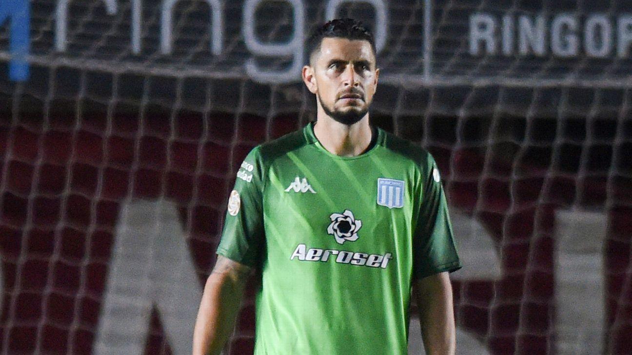 Gabriel Arias es duda en Racing para la Supercopa contra River