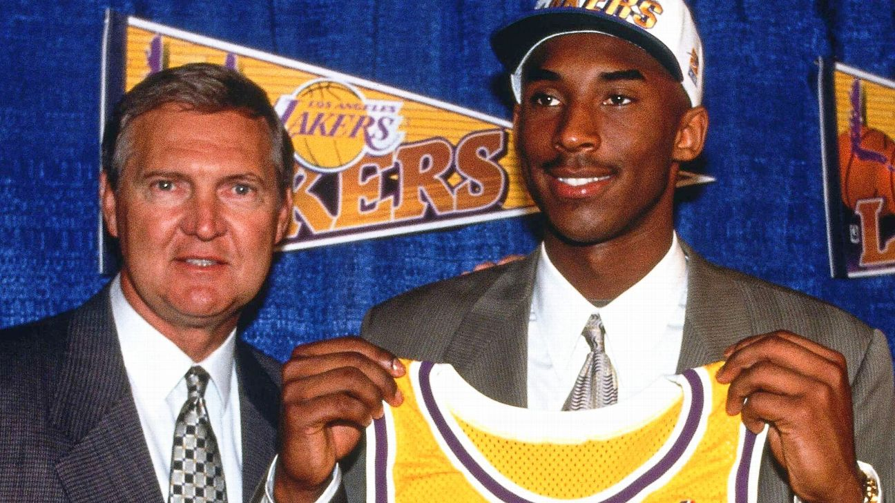 'He was a basketball genius': How a 17-year-old Kobe wowed Jerry West and the Lakers