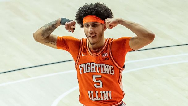 Men's Bracketology: Illinois supplants Ohio State on No. 1 seed line