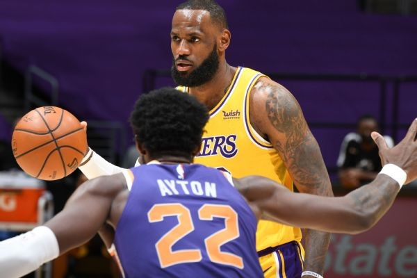 LeBron to sit out first game Wed. against Kings