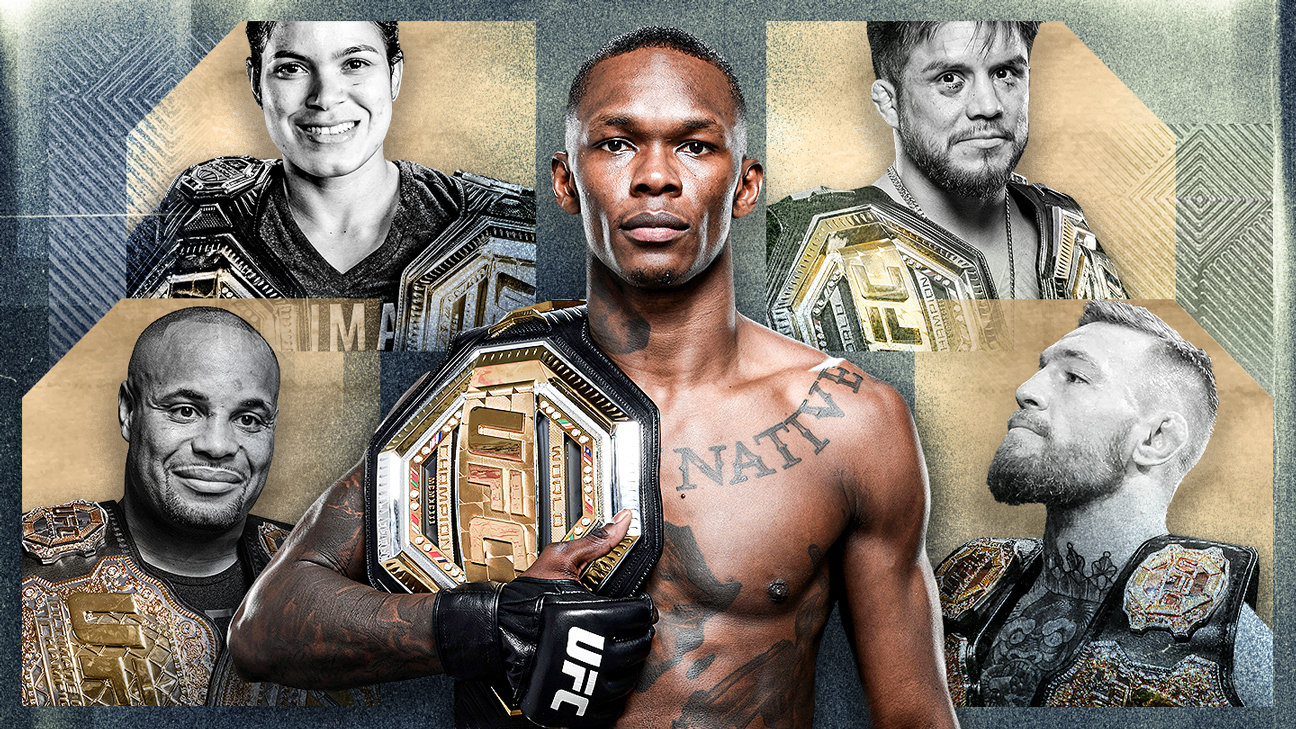 UFC 259: The UFC's exclusive champ-champ club has some advice for Israel Adesanya