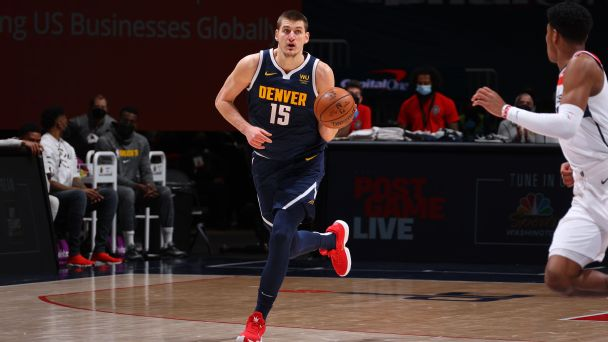 'He's like Luka, but a center': Nikola Jokic's atypical path to MVP candidacy