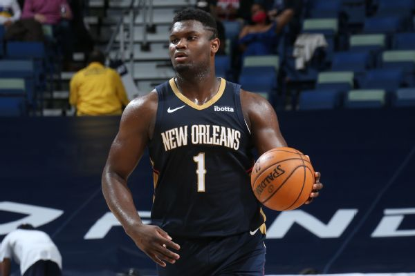 Zion out indefinitely; Pels blame league for injury