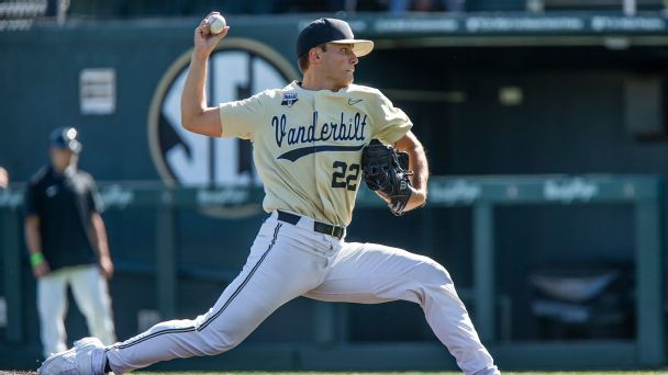Who is 2021 MLB draft's No. 1 pitching prospect? Scouting Vanderbilt's Jack Leiter and Kumar Rocker