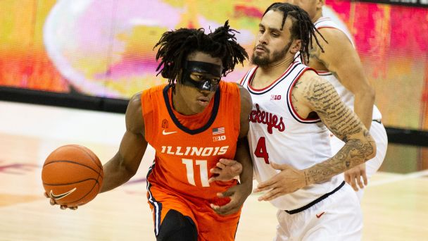 Men's Bracketology: Illinois solidifies spot on No. 1 line, top seeds unlikely to change