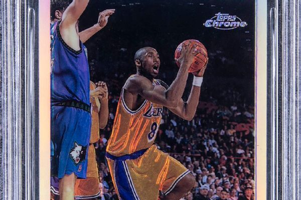 'Pristine' Kobe rookie card sells for nearly $1.8M
