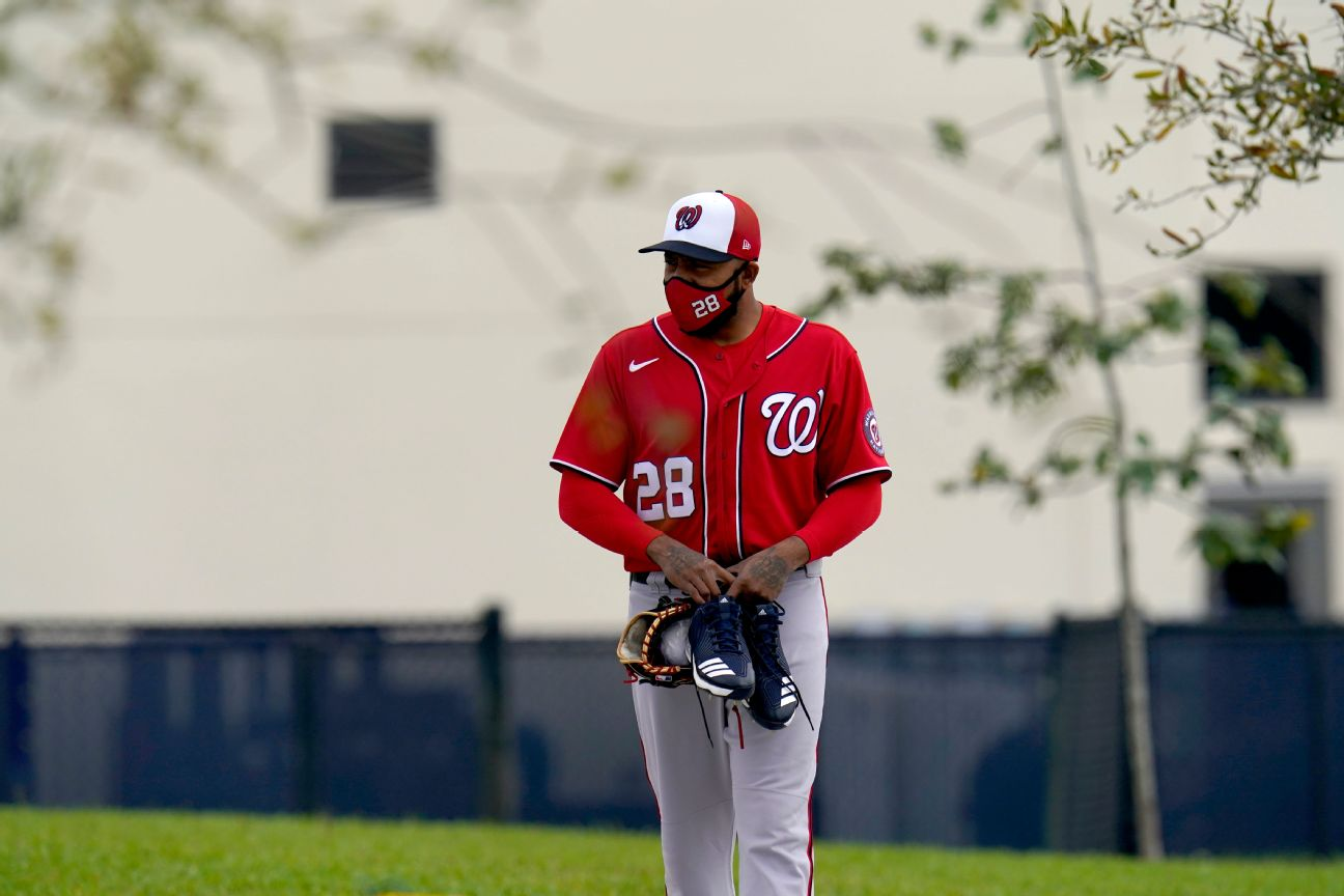 Nationals release Jeffress for 'personnel reasons'