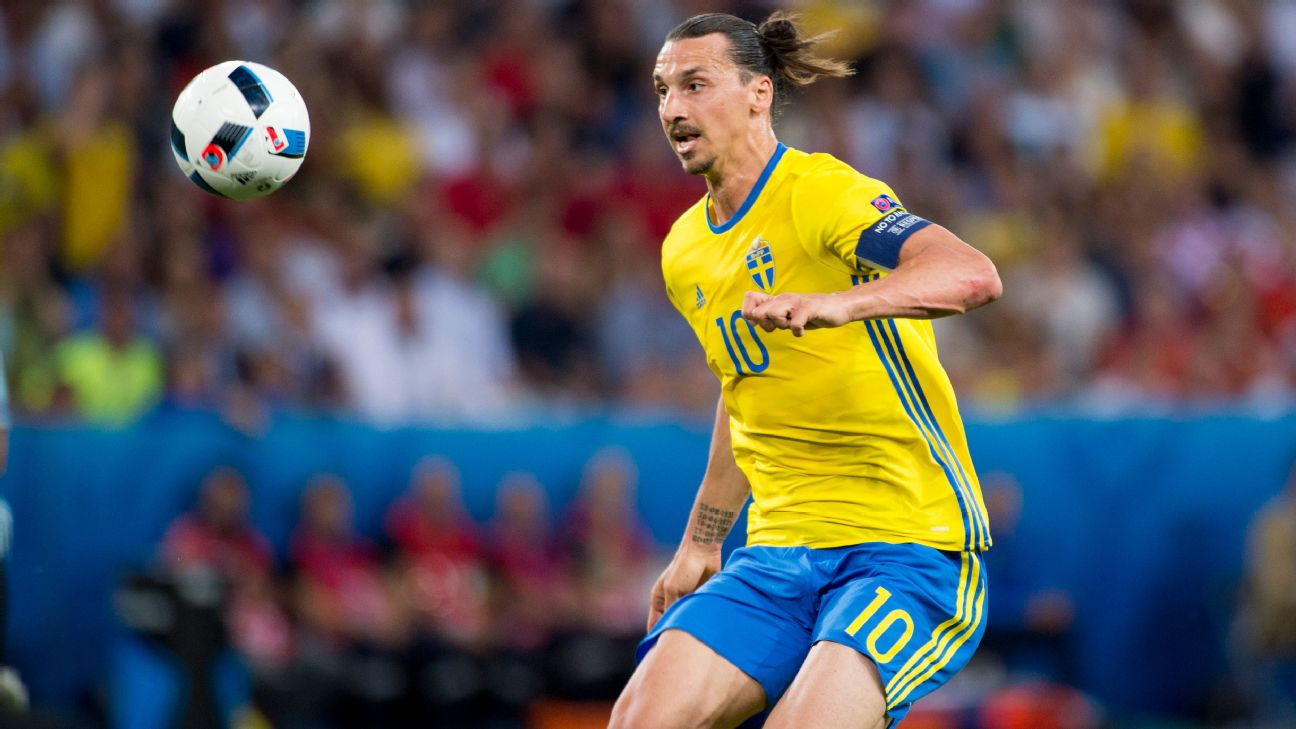 Ibrahimovic out of Euros, Sweden boss confirms
