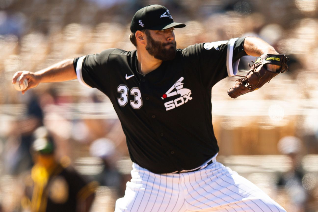 White Sox place right-hander Lynn on 10-day IL