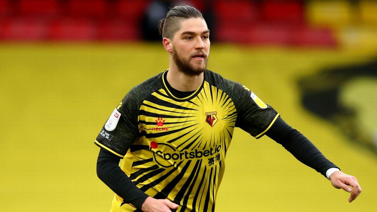 """El Maldini chileno"""": el elogio del Watford a Francisco Sierralta tras su gol"""