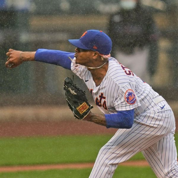Mets' Stroman upset game started amid rainfall