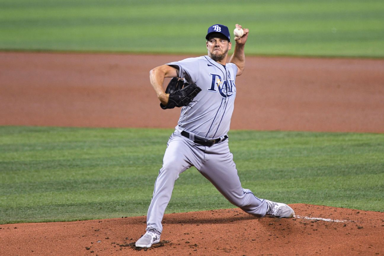 Mets get pitching help, trade for Rays lefty Hill