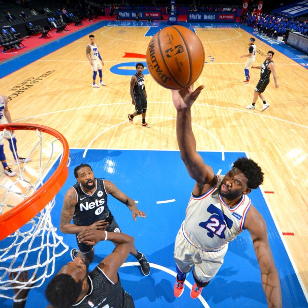 Sixers take significant step toward East's top seed with win over Nets
