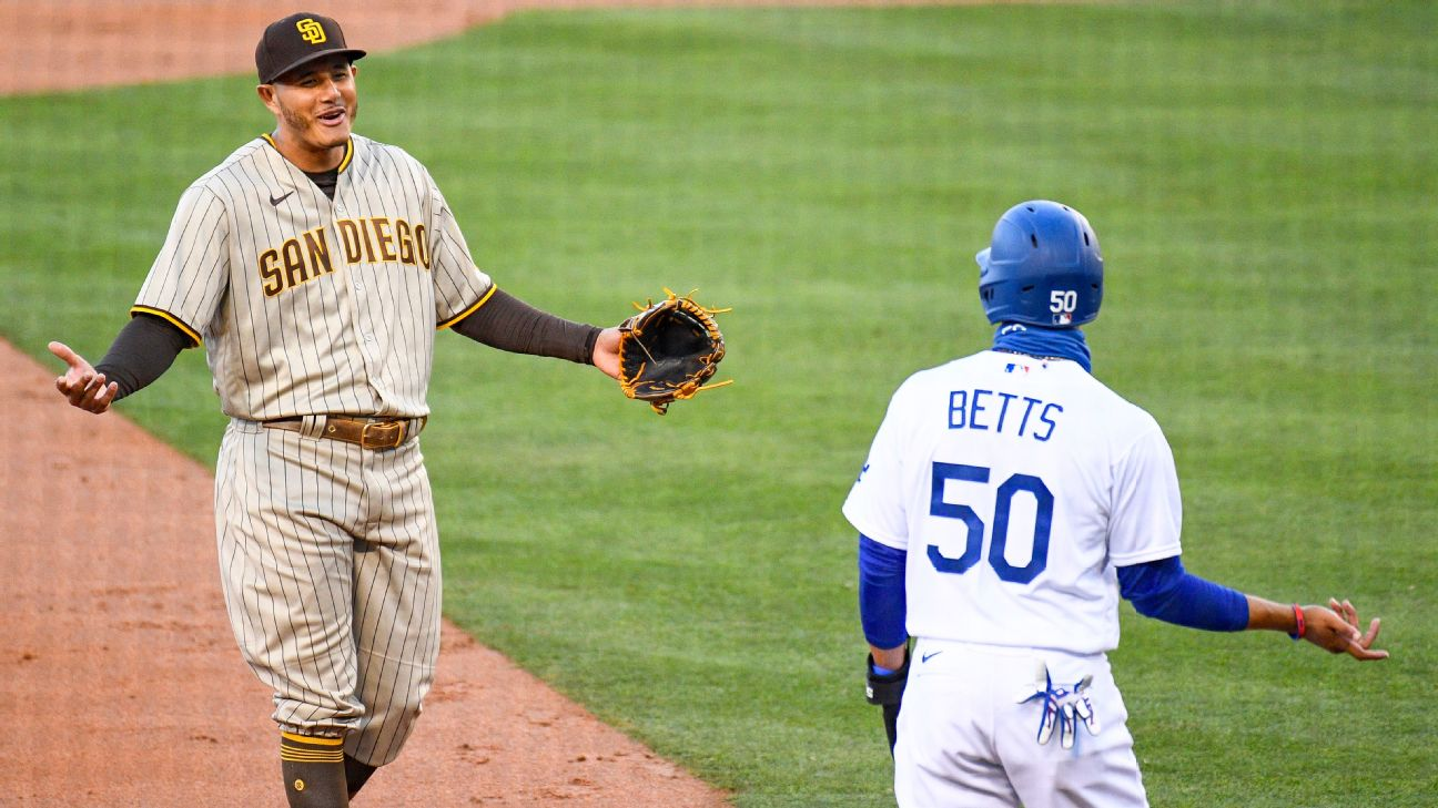 Get ready for Dodgers-Padres Round 1! What you need to know about MLB's  hottest new rivalry