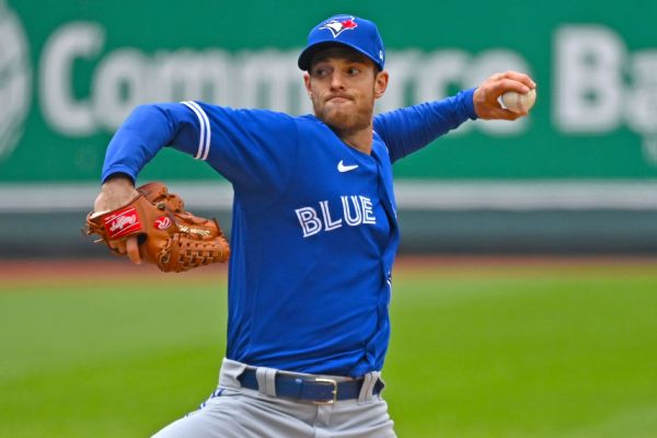 Blue Jays LHP Matz placed on COVID-related IL